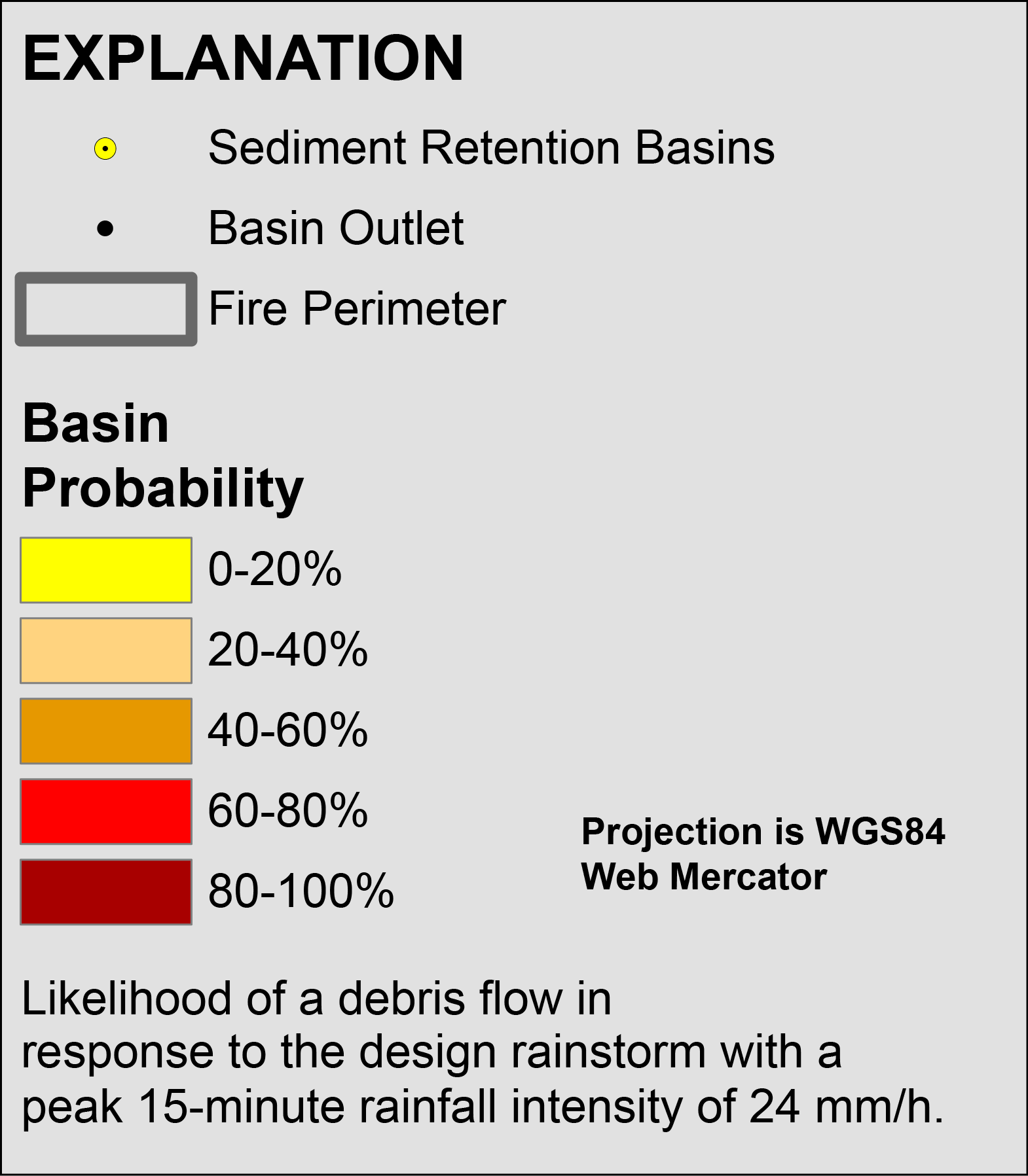 Emergency Assessment of Post-Fire Debris-Flow Hazards