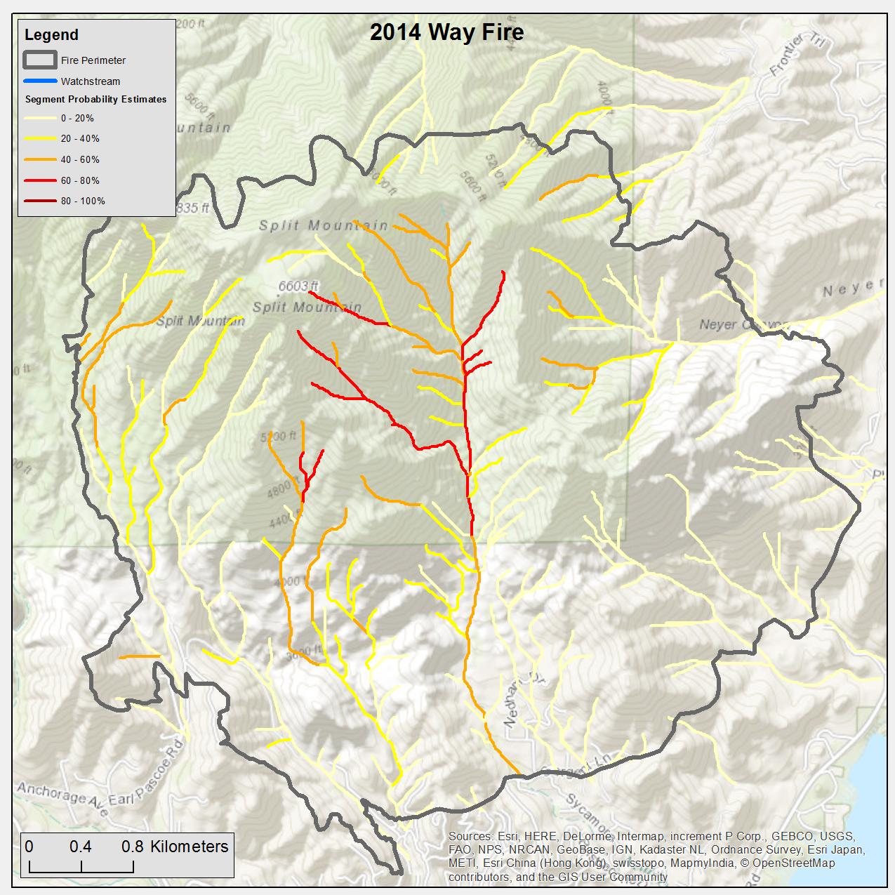 Emergency essment of Post-Fire Debris-Flow Hazards on