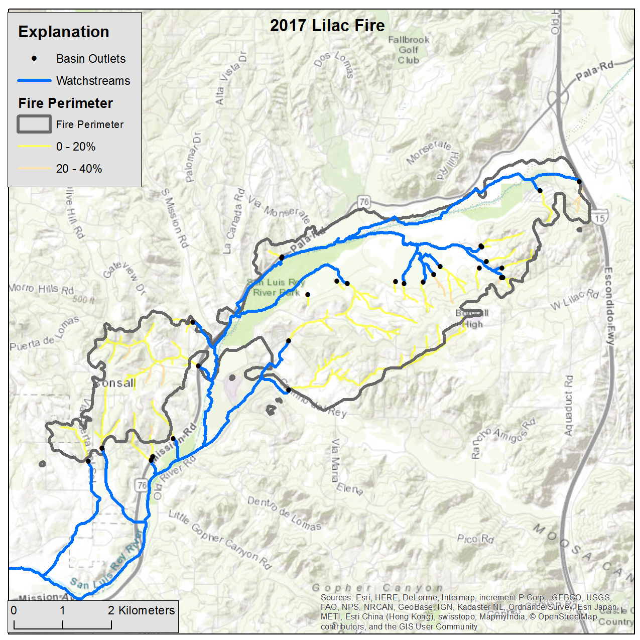 Emergency Assessment Of Post Fire Debris Flow Hazards